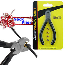 Archery String Nocking Buckle Plier BowString Nock Compound Recurve Bow Tool set