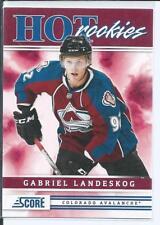 Gabriel Landeskog  11/12 Score  #553  Hot Rookies  SP RC