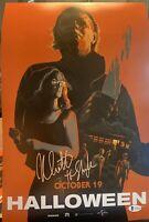 Nick Castle Signed 11x17 Photo Beckett COA. Halloween The Shape Michael Myers D3