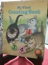 MY FIRST COUNTING BOOK Little Golden Book 1994 VGC