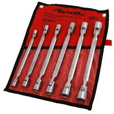 Flexible Head Socket Wrench Set - 6 Piece Set