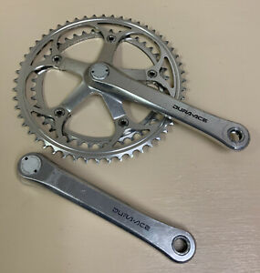 SHIMANO DURA ACE CRANKSET 7400 DOUBLE 172.5 MM 52-42T