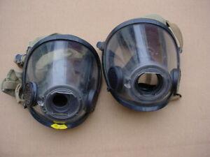 SCOTT AV3000 FACEMASKS SCBA AIR PACK FIRE DEPT FIREMAN FIRE FIGHTER 1M1L