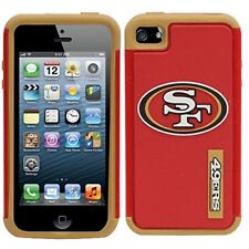 NFL SAN FRANCISCO 49ERS DUAL HYBRID IPHONE 5 - 5S - CASE  (New in package)