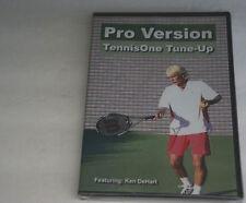 Pro Version TennisOne Tune-Up Business Plan Staff w/ KEN DeHART DVD NEW Sealed