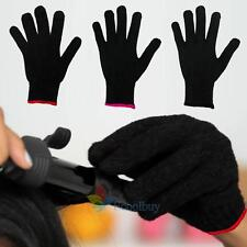 Hot Black Heat Resistant GLOVE For Hair Tools Curling & Flat IronsHair Styling A