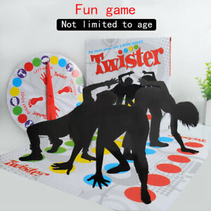 Twister The Classic Family Kid Party Body/Game with 2 More Moves Toy.2020 HHanle
