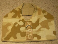 Tan Camouflage Camo Toy Dog Harness Vest Italian Greyhound Chinese Crested