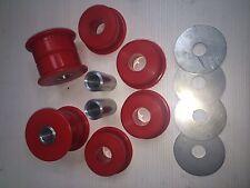 Nissan 200SX S13/S14 Skyline R32/R33 Subframe Duraflex Bushes in Red