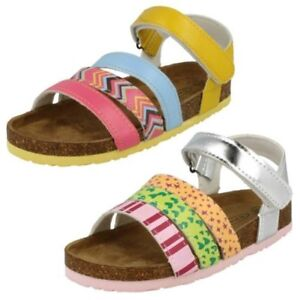 Girls Spot On Casual Ankle Strap 'Sandals'
