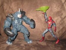 Power Charge Rhino vs. Climbing Spider-Man Marvel Universe 4 Inch Action Figure