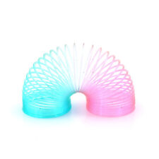 Plastic Magic Spring Slinky Bouncy Rainbow Spring Colorful Children Funny CYC