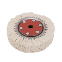 """8 Inch 200mm Cotton Airway Buffing Wheel for Polishing Grinding Tool 4/5"""" Bore"""