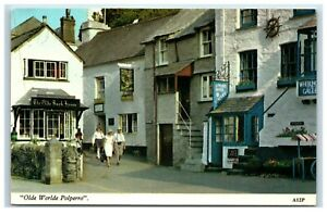 Postcard Olde Worlde Polperro Cornwall