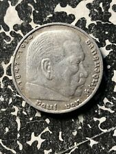 1936-D Germany 5 Mark (5 Available) Circulated (1 Coin Only) Silver!