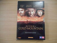 2 DVD - RETOUR A COLD MOUNTAIN  un film de ANTHONY MINGHELLA - zone 2