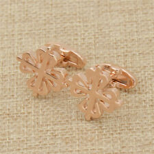 Unique Crown Shaped Copper Cuff Links Shirt Jewelry Accessories for Men Gifts