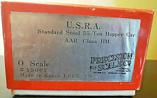 RARE Precision Scale Co BRASS U.S.R.A. Standard Steel 55-TON Hopper Car #15007
