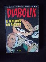 DIABOLIK Anno XVII n°13  [W4]