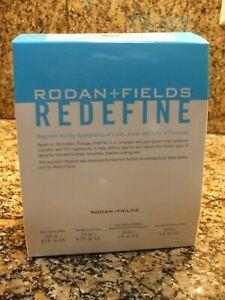 New & Sealed Rodan + Fields REDEFINE Regimen 4 Piece Full Size Exp 04/21