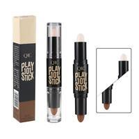 Makeup Natural Cream Face Foundation Concealer Highlight Contour Pen Stick GA