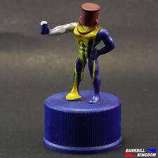 2001 Playstation Ps1 Pepsi Japan Pepsiman Bottle Cap Mini Figures - 4.TOO BAD...