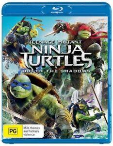 NEW Teenage Mutant Ninja Turtles Blu Ray Free Shipping