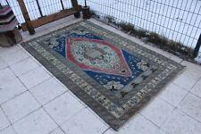 """Vintage Handmade Turkish  Oushak Area Rug 6'8""""x4'3"""""""