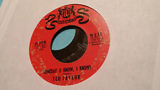 Ted Taylor 45 Someday/You Know I Do Warwick 628 Rare Northern Soul