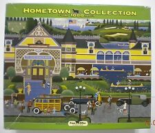 RoseArt Hometown Collection Grand Peacock Hotel Puzzle 1000 Pieces COMPLETE