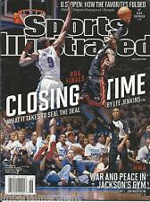 Sports Illustrated Magazine Nba Finals Lolo Jones Mma Jacksons Gym Stanley Cup