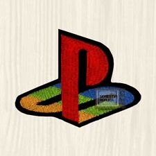 Playstation PS Logo Embroidered Patch Console PS2 PS3 Crash Bandicoot God of War
