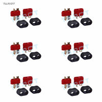 6 PAIRS tarot High quality Amass T shape Connector Plug male & female TL2926