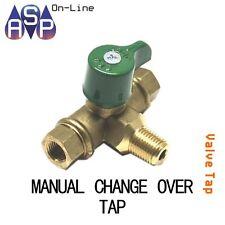 GAS LPG REGULATOR - MANUAL CHANGEOVER VALVE/TAP 2 STAGE