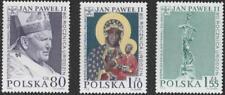 2000 80° compleanno Papa - Polonia - serie 3v