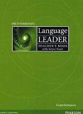 Pearson LANGUAGE LEADER Pre-Intermediate Teacher's Book w Active Teach Pack @NEW