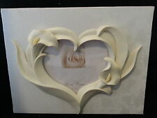 Ivory Graceful Calla Lily Lillies wedding guest book reception