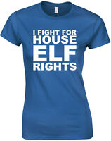 Fight For House Elf Rights, Harry Potter inspired Ladies' Printed T-Shirt Casual