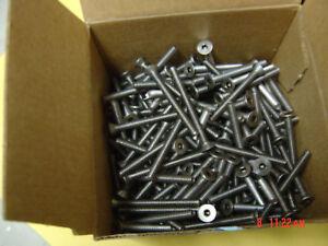 """10-24 X 2"""" Stainless Steel Flat Head Cap Screws"""