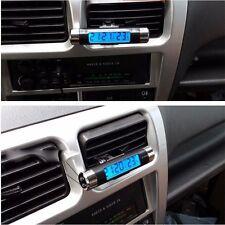 Car Auto Dashboard Digital LCD Blue Backlight Thermometer Time Clock Calendar