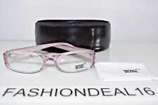 d80ac996d4 New Montblanc Authentic MB 303 Lilac Pearl MB303 078 53-17-135 RX Eyeglasses