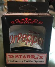 DR PEPPER Metal Wall Mount Bottle Opener  *STARR X* Germany Discontinued