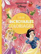 Disney Official Princesses & fairies Adult Colouring Book French Princess Fairy