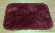 "Mowhawk Home Regency Bath Mat 17 x 24"" Burgundy Wine Nylon Rug"