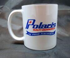 Reproduction Vintage Polaris Quality Snowmobile Logo Coffee Mug