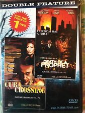 DEATH OF A PROPHET/CUBA CROSSING (DVD, NEW IN ORIGINAL SHRINK WRAP) M.FREEMAN