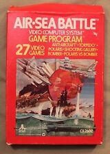m Original Atari 2600 CX 2602 AIR-SEA BATTLE Computer Game System Game Program