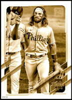 Bryce Harper 2021 Topps 5x7 Variation Short Prints Gold #250 /10 Phillies
