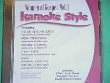 Women of Gospel #1 ~ Christian ~ Daywind ~ Karaoke Style ~~ It Ain't Over ~ CD+G