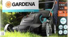 Gardena 05041-20 PowerMax Li-40/41 Akku-Rasenmäher, Akku und Ladegerät
